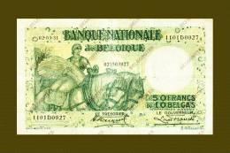 *Belgie - Belgique* 50 Francs Type Anto Carte * * 1931 * Lot 3927