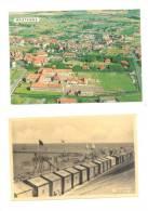 WESTENDE - Lot De 2 Cartes - Lot Van 2 Postkaarten (k4) - Westende