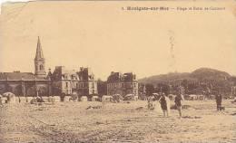 14 - Houlgate-sur-Mer - Plage Et Butte De Caumont (animée) - Houlgate