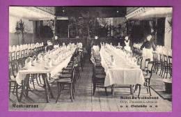 CPA -  BELGIQUE - OOSTENDE / OSTENDE  -  HOTEL DU VOLKSBOND / LE RESTAURANT - LA SALE A MANGER - Oostende