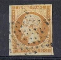 FR-CL6 - NAPOLEON N° 13Ab Bistre-orange Oblitération étoile - 1853-1860 Napoleon III