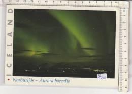 PO7510B# ISLANDA - AURORA BOREALE  VG 1999 - Islanda