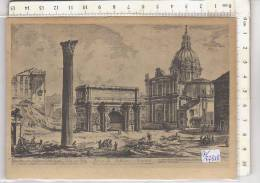 PO7721B# ROMA ANTICA - ARCO DI SETTIMIO SEVERO DAL FORO ROMANO - XIV ASSEMBLEE GEN.FED.INT.PHARMACEUTIQU E  VG 1951 - Autres Monuments, édifices