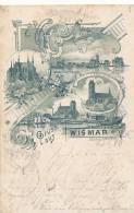 WISMAR - 1898 , Gruss Aus ... - Knick Recht Oben - Deutschland