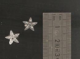 Boucles D'oreille En Metal Argentée DIM 1 CM - Earrings