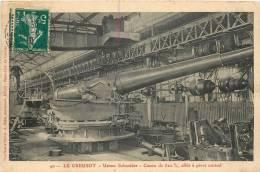 71 LE CREUSOT USINES SCHNEIDER  CANON DE 320 AFFUT A PIVOT CENTRAL EDITION DURET - Le Creusot
