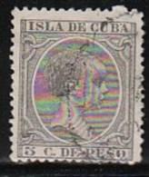 Cuba Ed 115   1890 Usado ( El De La Foto) - Cuba (1874-1898)