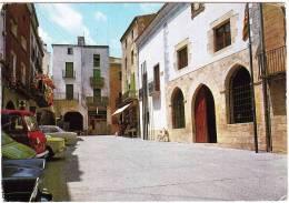 Castello D'Empuries: SEAT 1500,SIMCA 1100, AUSTIN-MORRIS 180 J4, RENAULT 8, OPEL REKORD-C - Car/Auto - Spain - PKW