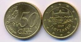 Slovakia 50 Euro Cents 2009 UNC - Slovaquie