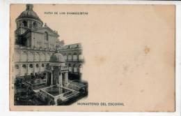 ESPAGNE - Monasterio Del Escorial - Patio Del Los Evangelistas - Pub Hotel Miranda Au Verso - Perejil