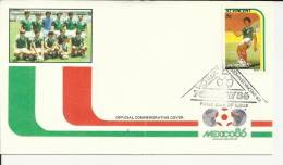 ST VINCENT SPD   MUNDIAL DE FUTBOL MEXICO 86 - 1986 – Mexiko