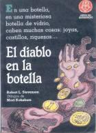 EL DIABLO EN LA BOTELLA - ROBERT L. STEVENSON - DIBUJOS DE MORI KOHAKURA - LIBROS DEL QUIRQUINCHO - Horror