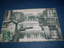 Nantes - L'Erdre - L'écluse - Tramway - Phot. Vassellier 22 - Circulée 1908 - L115 - Nantes