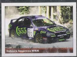 Subaru Impreza WRX Sticker - Size:70x50 Mm. Aprox. - Collection Of Vintage Cars - Otros