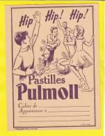 Protège-cahier Pastilles Pulmoll Violet Football - Protège-cahiers