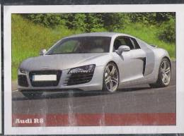 Audi R8 Sticker - Size:70x50 Mm. Aprox. - Collection Of Vintage Cars - Otros