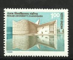 INDIA, 1989, Punjab University, Chandigarh,  MNH, (**) - Architecture