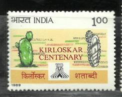 INDIA, 1989, Kirloskar Corporation, Centenary,  MNH, (**) - Inde