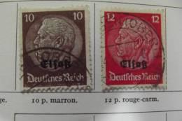 Lot 5 Timbres  Occupation Allemande Guerre De 1939 - France