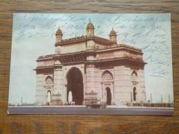 Gateway Of India BOMBAY Anno 19?? ( Zie/voir Foto Voor Details ) !! - India