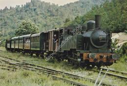 FRANCE -TRAIN A VAPEUR DES CEVENNES.- (VOIR DETAILS DANS DESCRIPTION) -non Circulée - (scan Recto-verso) - Eisenbahnen
