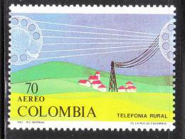 Colombia 1988 Rural Telephone System MNH - Colombia