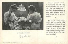 Theme: Syndicats Conditions De Travail ,couture - Syndicats