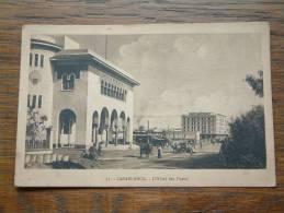 L'Hôtel Des POSTES / Anno 19?? ( Zie/voir Foto Voor Details ) !! - Casablanca
