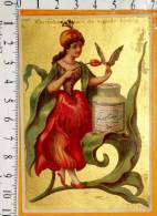 Chromo  LIEBIG S133 / Hutinet /  Femme Fleur Tulipe Papillon - Liebig