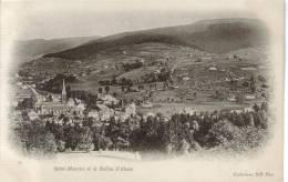 CPA PIONNIERE SAINT MAURICE SUR MOSELLE (Vosges) - Vue Générale Et Le Ballon D'Alsace - Frankrijk