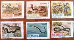 MOZAMBIQUE Reptiles Serpents (Yvert N° 862/67). Neuf Sans Charniere ** MNH - Serpents