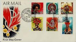 =PAPUA NEU GUINEA FDC 1978 - Papouasie-Nouvelle-Guinée