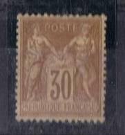 FR-CL40 - Type Sage N° 80 Neuf** Pli - 1876-1878 Sage (Type I)