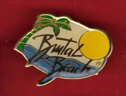 26732-Pin's Surf .Brutal Beach - Six Fours. - Cities