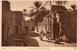 Afrique > ALGERIE - Rue D´un Village Du Sud (animation - Editions : CAP 1277)* PRIX FIXE - Algeria