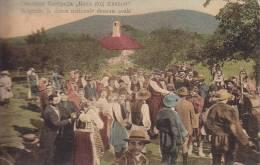 BELGRADE ... LA DANSE NATIONALE DESSOUS AVALA - Serbie