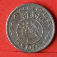 ANGOLA  5  ESCUDOS  1972   KM# 81  -    (1373) - Angola