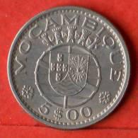 MOZAMBIQUE  5  ESCUDOS  1973   KM# 86  -    (1375) - Mozambique