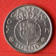 MOZAMBIQUE  10  ESCUDOS  1974   KM# 76b  -    (1378) - Mozambique
