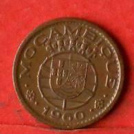 MOZAMBIQUE  10  CENTAVOS  1960   KM# 83  -    (1384) - Mozambique