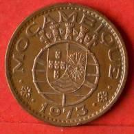 MOZAMBIQUE  1  ESCUDOS  1973   KM# 82  -    (1385) - Mozambique