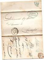 1881 LETTERA CON ANNULLO CASERTA   + 12 REGGIMENTO CAVALLERIA PIACENZA - 1861-78 Vittorio Emanuele II