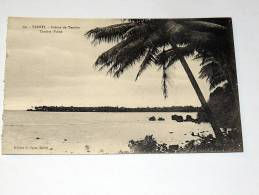 Carte Postale Ancienne : TAHITI : Pointe De Tautira - Polinesia Francesa
