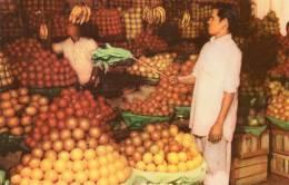 Asie-PAKISTAN- Fruit Stall In A Bazar Of KARACHI  (fruits) * PRIX FIXE - Pakistan