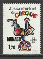 MONACO , 1,20 F  , VI Festival International De Cirque De Monte-Carlo , 1979 , N° YT 1201 , NEUF ** - Monaco