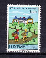 LUXEMBOURG  1967 ,  Inns For Youngs  ,  Y&T  #  706  , Cv  0,25  E , ** M N H , V V F - Unused Stamps