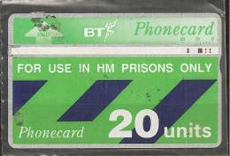 """GROSSBRITANNIEN """" PRISON-CARD """" - Télécartes"""