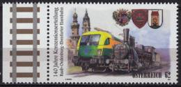 2012 Austria - LOCOMOTIVE TRAIN - MNH - Treni