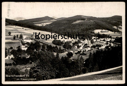 ALTE POSTKARTE MARSCHENDORF IV 1939 HORNI MARSOV SUDETEN SUDETENGAU RIESENGEBIRGE Karkonosze Krkonose Cpa Postcard AK - Sudeten