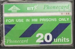 """GROSSBRITANNIEN """" PRISON-CARD """" - Ver. Königreich"""